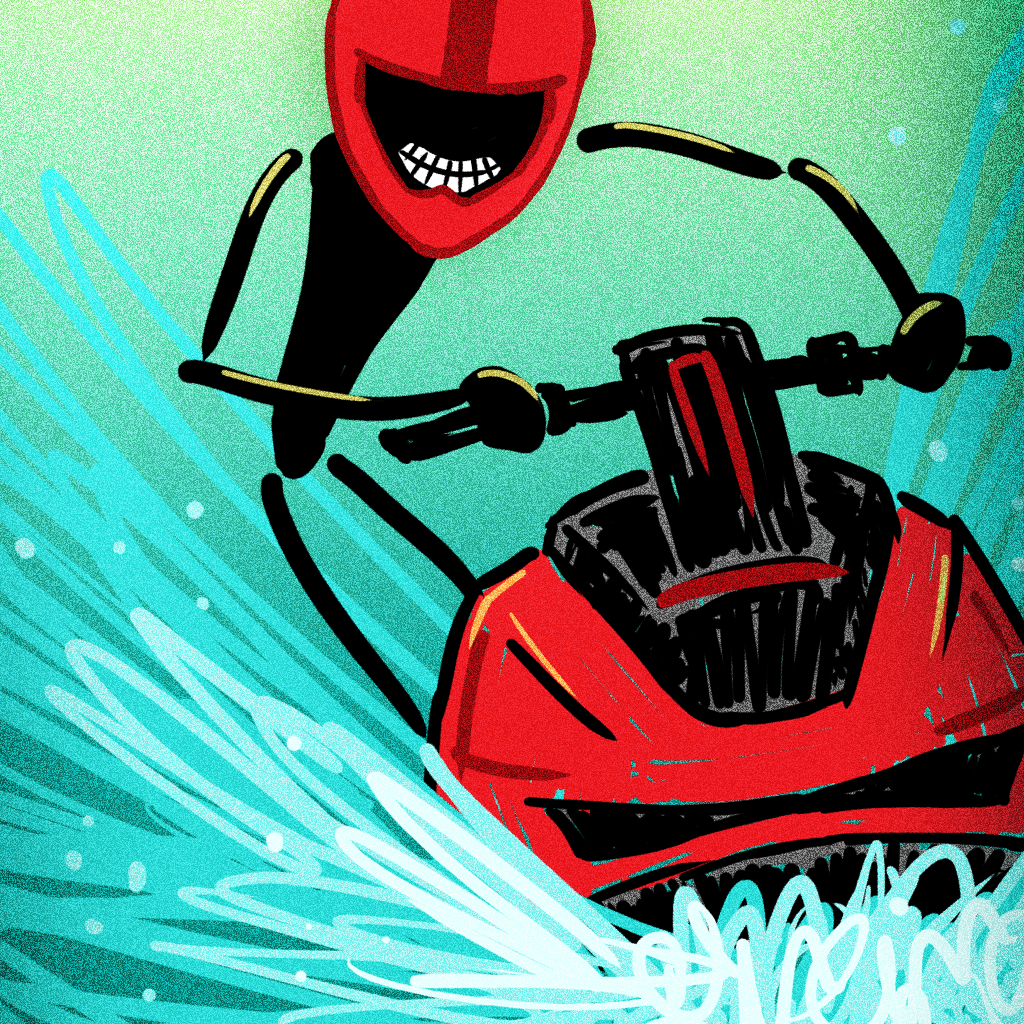 A Stickman Wave Racer by RoboNacho Systems, LLC icon